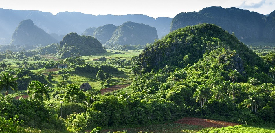 Vinales mogotes at dawn