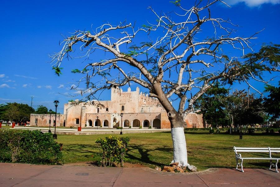 Exterior of Convento San Bernardino in Valladolid