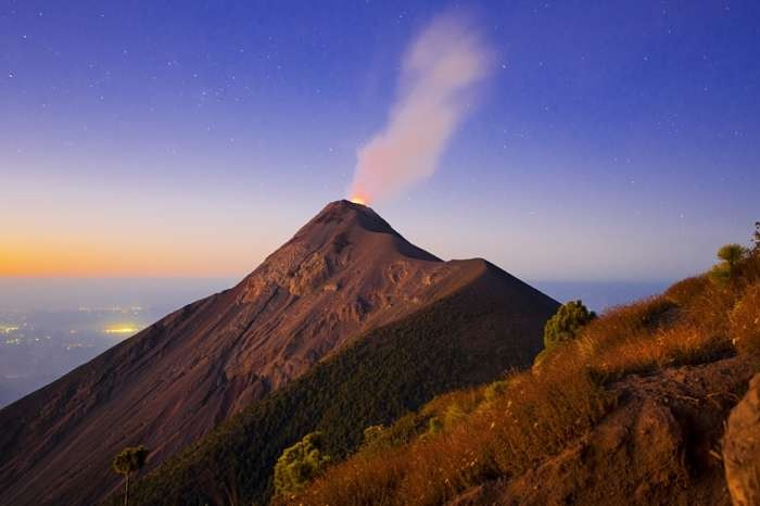 Guatemala volcanoes