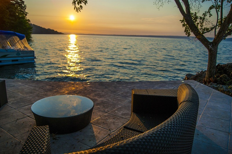 Lake view from Hotel Bolontiku