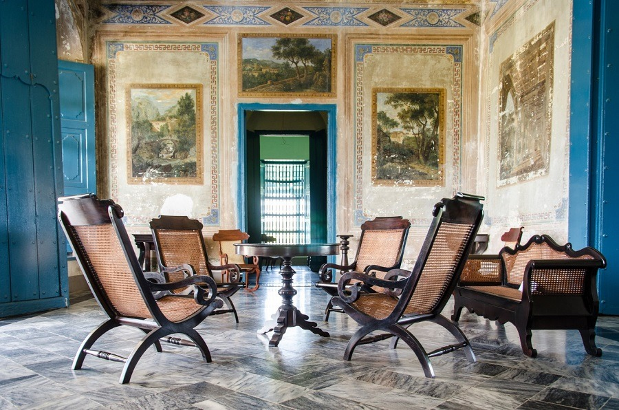 Museo Romantico Trinidad lounge