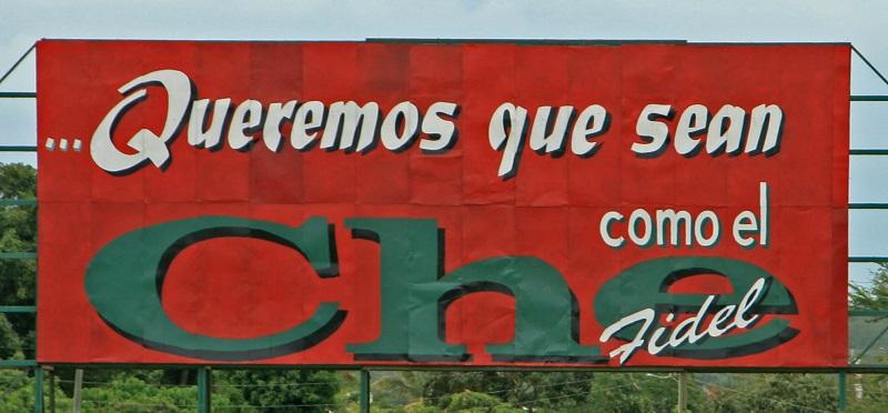 Che Guevara Roadsign
