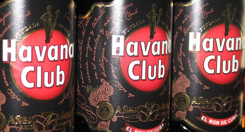Bottles of Havana Club Rum