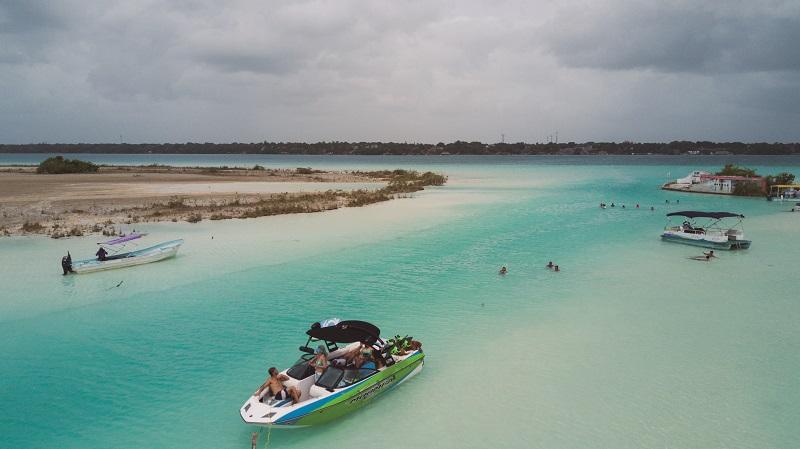 Pirates Canal Lake Bacalar