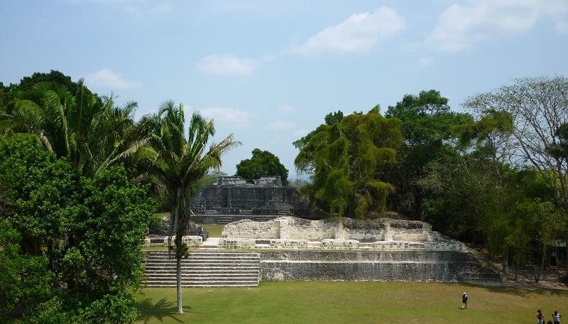 Xunantunich Maya ruins near San Ignacio in Belize