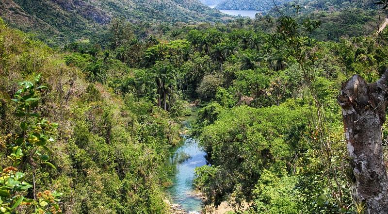 View towards Lake Hanabanilla from El Nicho