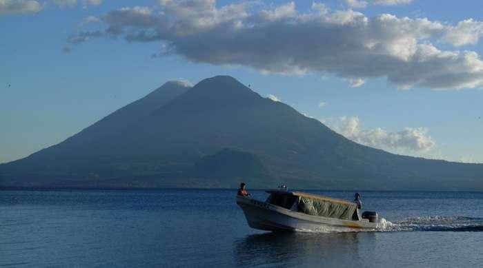 Guatemala boat trips include Lake Atitlan