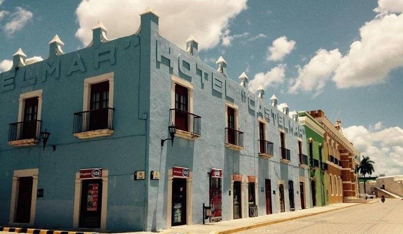 Hotel Castelmar Near Plaza Campeche