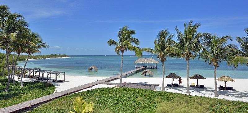 Idyllic Cuba Beach