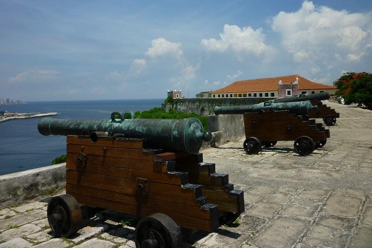 Cannons at La Cabana in Havana