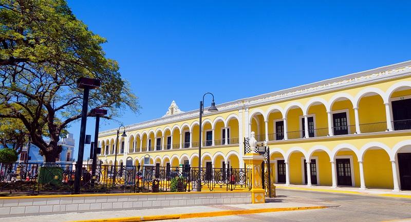 Museo El Palacio in Campeche, Mexico