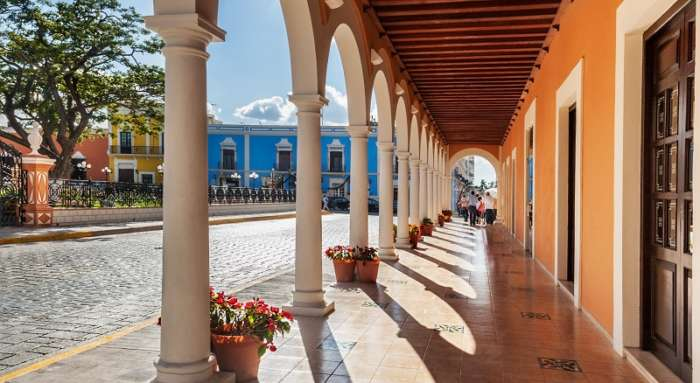 Plaza de la Independencia in Campeche