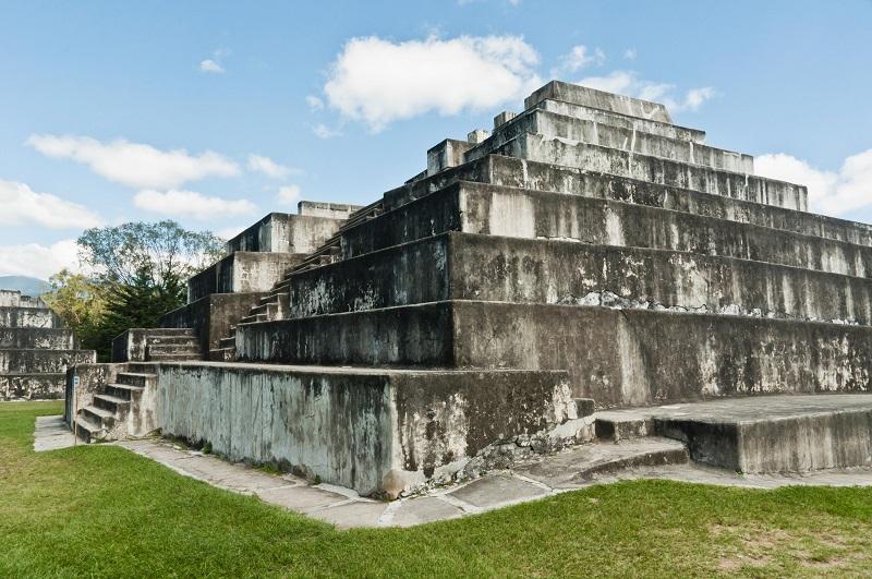 Maya pyramid in Guatemala