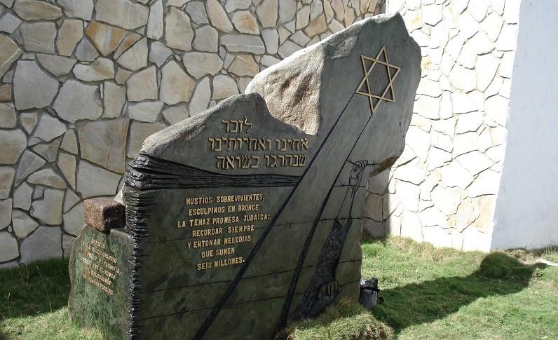 Shoah Jewish memorial in Santa Clara, Cuba