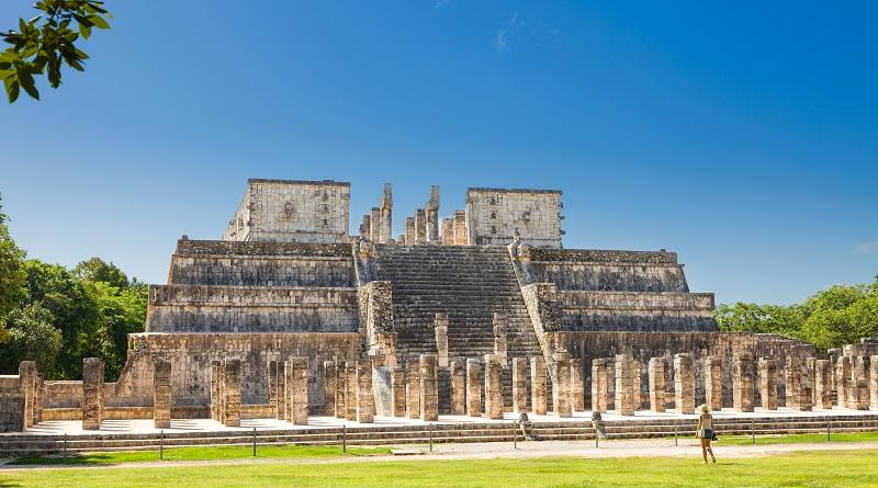Mayan ruins of Chichen Itza in Yucatan State