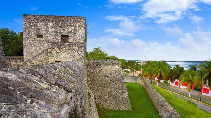 Fuerte San Felipe in Bacalar