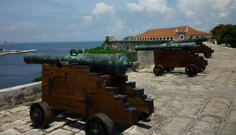 Cannons at La Cabana Habana