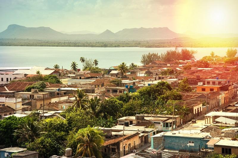 View over Gibara, Cuba