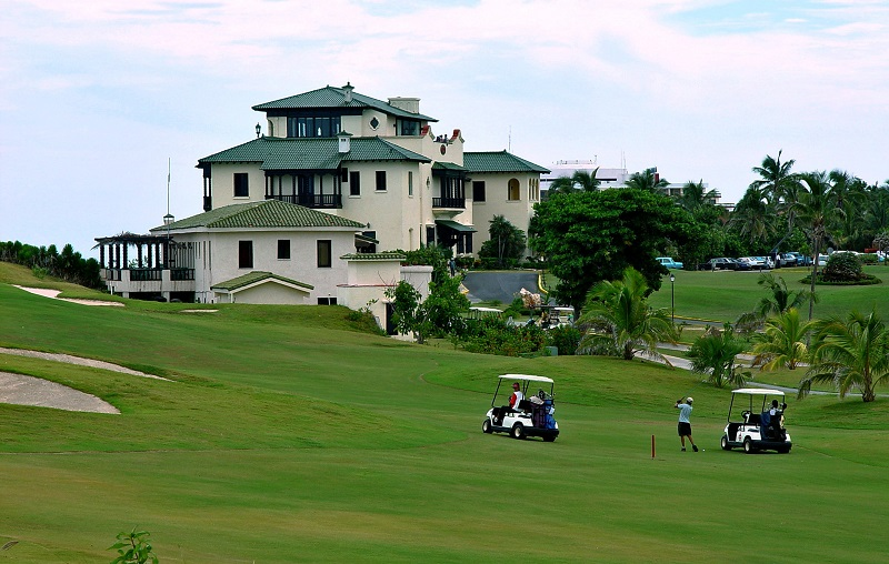 Varadero golf course fairway